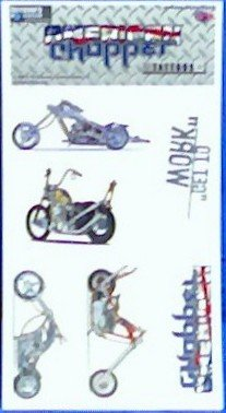 American Chopper Temp Tattoo