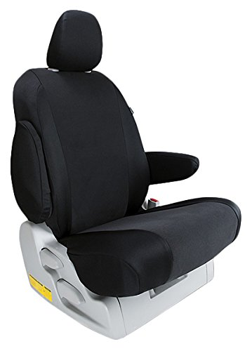Custom Fit Ford F350 Seat Covers (2011-2015) Rear Seat Set - In Oem Charcoal - 40/60 Bottom W/ Solid Back And Headrests (Hr Covers Not Available) (Supercab)