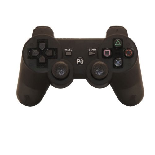 Black Wireless Controller for Playstation 3 PS3