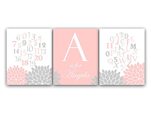 Personalized Alphabet Wall Art front-1031740