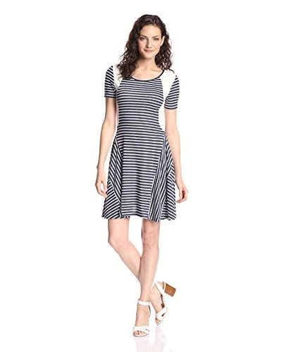 Fraiche by J Women's Fit-and-Flare Dress