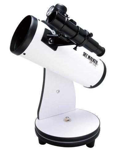 Kenko 天体望遠鏡 SKY WALKER SW-I PC 反射式 口径76mm 焦点距離300mm 卓上型 PC接続対応 デジタルアイピース付属 120194