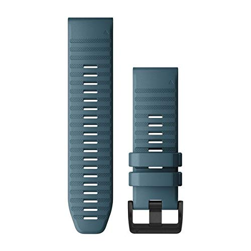 Garmin Quickfit 26 Watch Band, Lakeside Blue Silicone