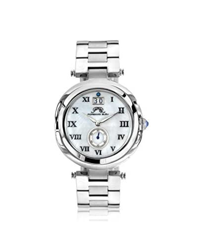 Porsamo Bleu Women's 103ASSS South Sea Gold-Tone/White Stainless Steel Watch