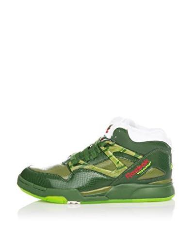 Reebok Sneaker Alta Pump Omni Lite [Verde]