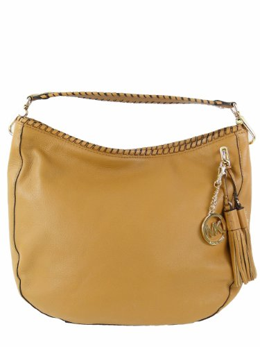 MICHAEL Michael Kors Bennet Large Shoulder Bag Tan