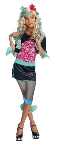 Monster High Lagoona Blue Costume - One Color - Medium