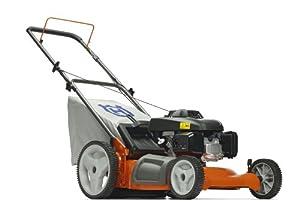Husqvarna 7021P 21-Inch 160cc Honda GCV160 Gas Powered 3-N-1 Push Lawn Mower With High Rear Wheels (CARB Compliant) from Husqvarna