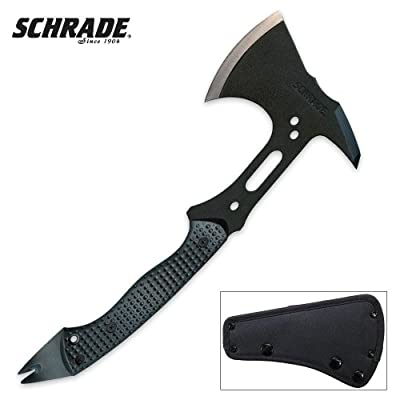 Schrade SCAXE5 Full Tang Tactical Hatchet by Taylor Brands LLC