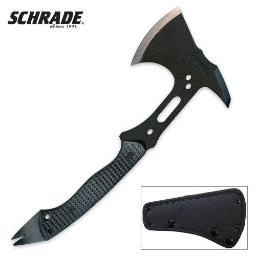 Schrade Scaxe5 Full Tang Tactical Hatchet