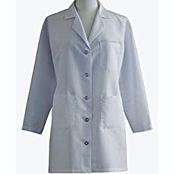 Surgical e Sstudio Lab Coat - X-Large, White
