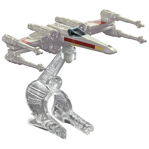 Hot Wheels Star Wars Starship X-Wing Fighter Red 3 - 1