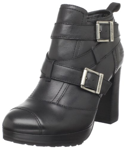 a7fc87ea66be The Features Harley Davidson Women s Samantha Motorcyle Boot Black 9 M US  -. Leather Casual Boots