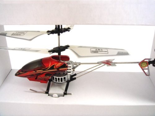 Steel Frame 3-Channel RTF Radio Controlled RC Helicopter