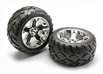 Traxxas 5576R Anaconda Tires and All-Star Wheels Rear Jato 3.3