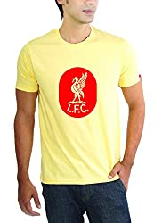 LaCrafters Mens Tshirt - Football - Liverpool Collection_Yellow_Small