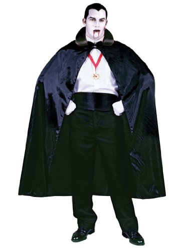 The Count Cape Vampire Sorcerer 56in Black