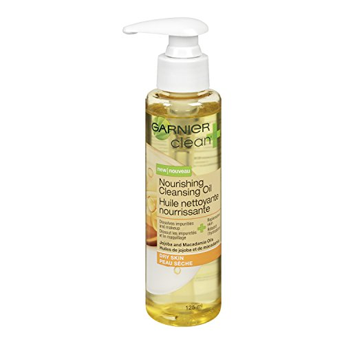 Garnier Skin and Hair Care Garnier Skin and Hair Care Clean and Nourishing Cleansing Oil for Dry Skin 4.2 Fluid Ounce