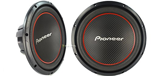 "New Pair Pioneer Ts-W304R Champion Series 12"" 4 Ohm 1300W Subwoofer Svc Sub"
