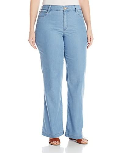 NYDJ Plus Women's Wylie Trouser Pant