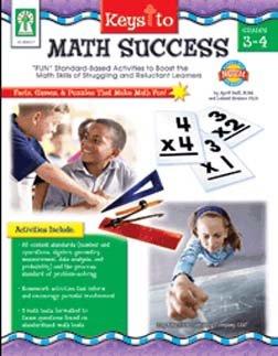 KEYS TO MATH SUCCESS GR 3 - 4 - Buy KEYS TO MATH SUCCESS GR 3 - 4 - Purchase KEYS TO MATH SUCCESS GR 3 - 4 (Carson Dellosa, Toys & Games,Categories)