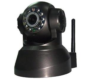 POWER STAR NIP-02 motorised wireless-G IP camera for day / night - black