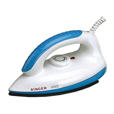 Singer Viva 1000-Watt Dry Iron (Blue)