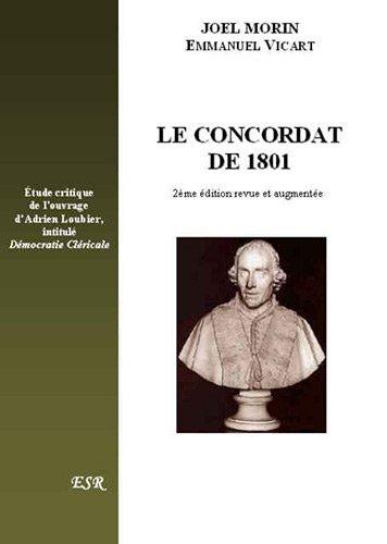 Le condordat de 1801