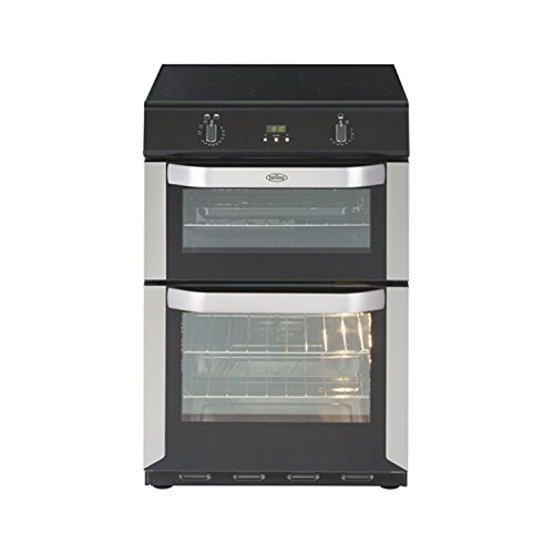 Belling FSE60DOTi 60cm Electric Cooker Double Ovens with Touch Control Induction Hob
