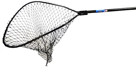 Ranger 9955 Anodized Round-Handle quotBig Gamequot Landing Net 48-Inch Handle 34 x 30-Inch Hoop 48-I