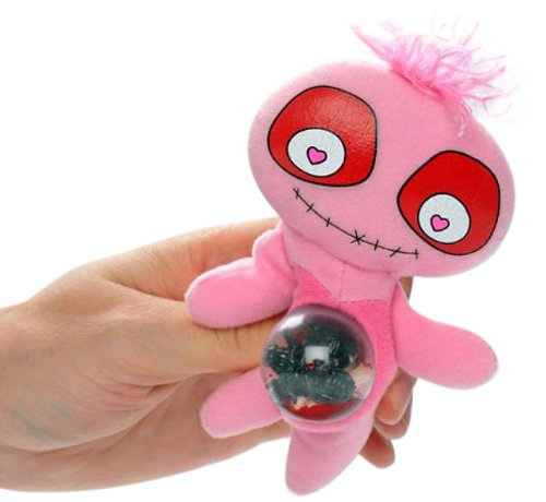 SMIFFYS Squeezy Monster Dolls, Love Monster