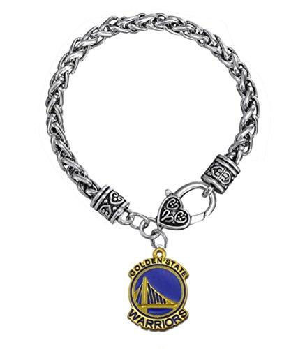 Basketball Charm Bracelet: Golden State Warriors Charm Bracelet, Golden State