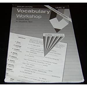 sadlier vocabulary workshop enriched edition level d answers
