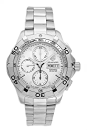 TAG Heuer Men s CAF2011 BA0815 Aquaracer Automatic Chronograph Stainless Steel Watch