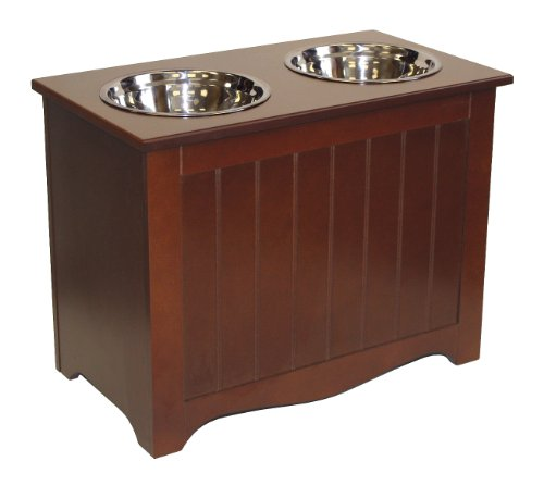 APetProject Large Pet Food Server & Storage Box (Chocolate Brown) *LIMIT 1 PER ORDER*