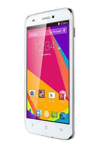 BLU Studio 5.0 HD LTE with 5-Inch HD Display, 13MP Camera, Android KitKat v4.4 and 4G LTE HSPA+ Unlocked Cell Phone- White
