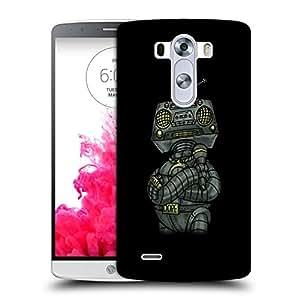 Snoogg Dope Shop Robot Designer Protective Back Case Cover For LG G3 STYLUS