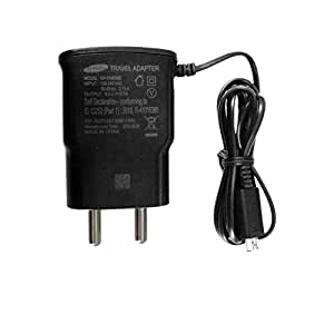 KolorEdge Original Samsung AC Power Travel Charger For Samsung Galaxy A7 Duos Black (Comes in non retail package)