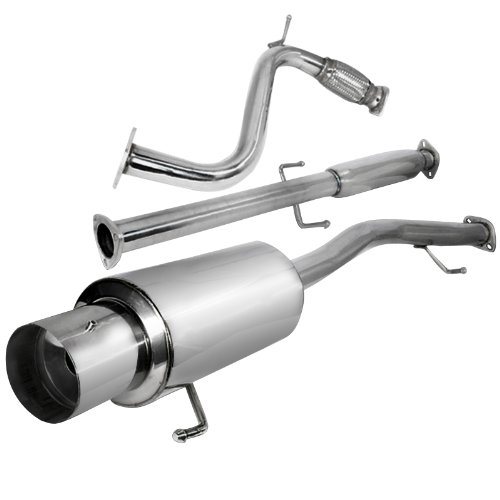 Exhaust Resonator and Pipe Assembly For 1998-2002 Honda Accord 2.3L 4 Cyl Walker