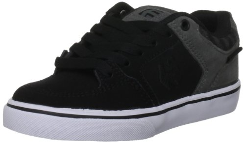 Etnies Sheckler 6 Black/Dark Grey Fashion Sports Skate Shoe 4302000011 2 UK Junior, 3 US