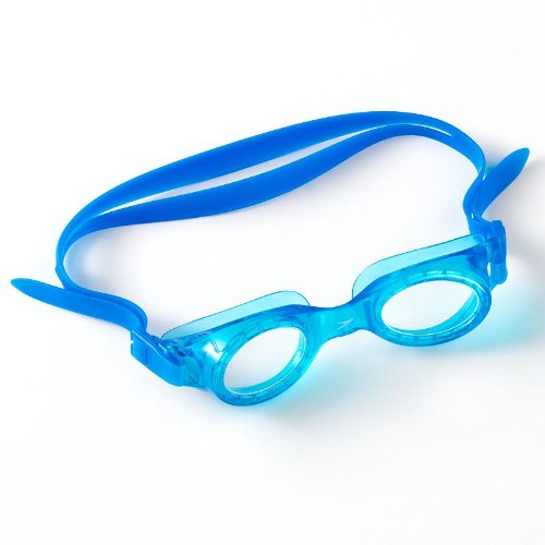 Boys Speedo Boomerang Jr. Swim Goggles, Blue