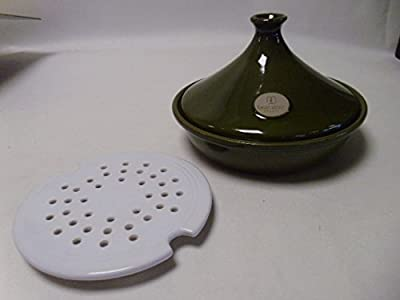 Emile Henry Olive Tagine With White Vapour Insert 25cm 15l