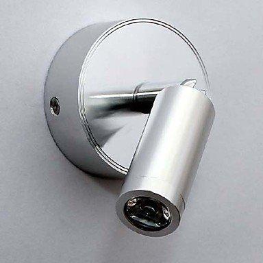 Mini Led Wall Light, Modern Silver Aluminum Plating