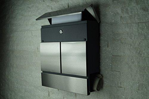 briefkasten mailbox wandbriefkasten modell 777. Black Bedroom Furniture Sets. Home Design Ideas