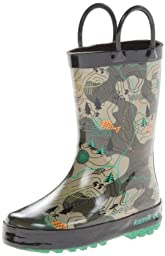 Kamik Explore Rain Boot (Toddler/Little Kid),Khaki,11 M US Little Kid