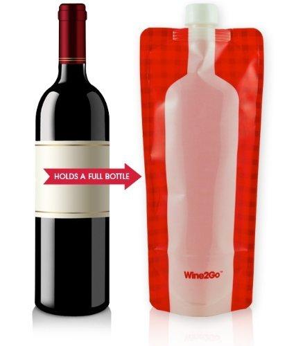 Wine2Go - The Foldable Wine Bottle