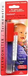 Geratherm Thermometer Rectal Mercury Free 1 Each (Pack of 12)