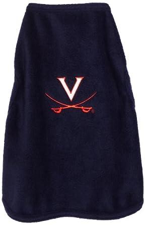NCAA Virginia Cavaliers Polar Fleece Dog Sweatshirt, XX-Small by All Star Dogs