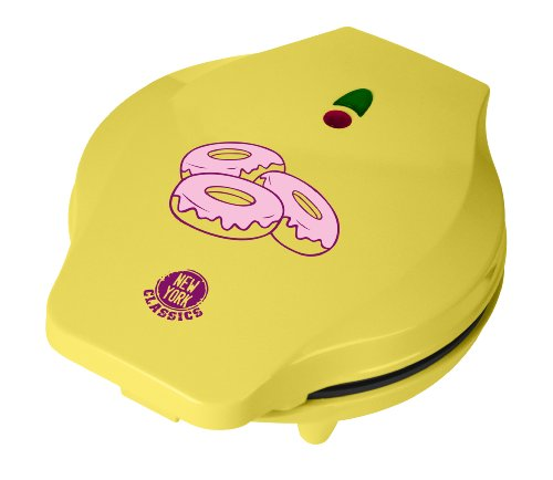 Team-Kalorik-Group - TKG DNM 1001 NYC - Machine à donuts, 700 watts, Jaune