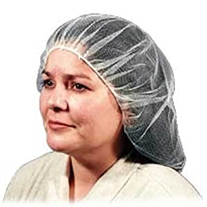 Malt Industries - Heavyweight 21 Inch Hairnet - White